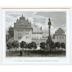 Das Fuerst Schwazenbergische Palais in Prag