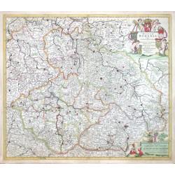 Regnum Bohemia, eique Annexae Provinciae ut Ducatus Silesia, Marchionatus Moravia, et Lusatia quae sunt terrae haereditairae