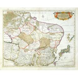 Magnae Tartariae, Magni Mogolis Imperii, Iaponiae et Chinae Nova Descriprio