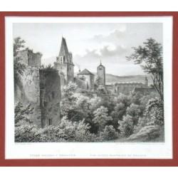 Beroun - Staré hradby v Berouně