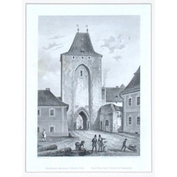 Beroun - Pražská brána v Berouně. Das Prager Thor zu Beraun