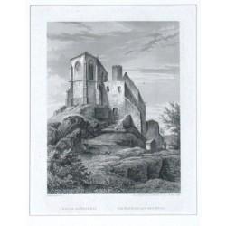 Bezděz. Kaple na Bezdězi. Die Kapelle auf dem Bösig.
