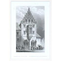 Kutná Hora. Kamenný dům v Kutné Hoře. Das steinere Haus zu Kuttenberg