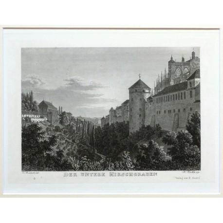 Der Untere Hirschgraben Praha Pražský Hrad Jelení přkop