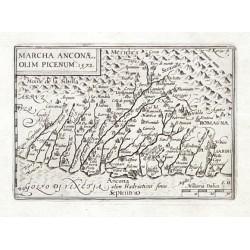 Marcha Anconae olim Picenum. 1572