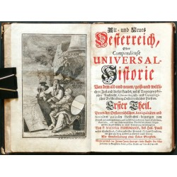 Alt- und Neues Oesterreich ... Erster Theil