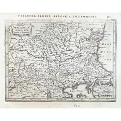 Walachia Servia, Bulgaria, et Romania