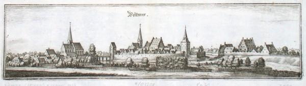 Pöttmes - Stará mapa