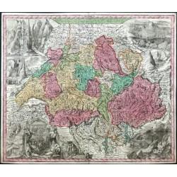 Nova totius Helvetiae  Tab. Geogr.