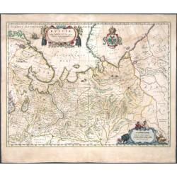 Russiae, vulgo Moscovia dictae, Partes Septentrionalis et Orientalis