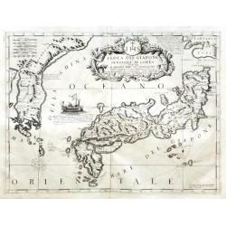 Isola del Giapone e Penisola di Corea