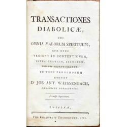 Transactiones diabolicae