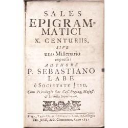 Sales epigramatici X. centuriis