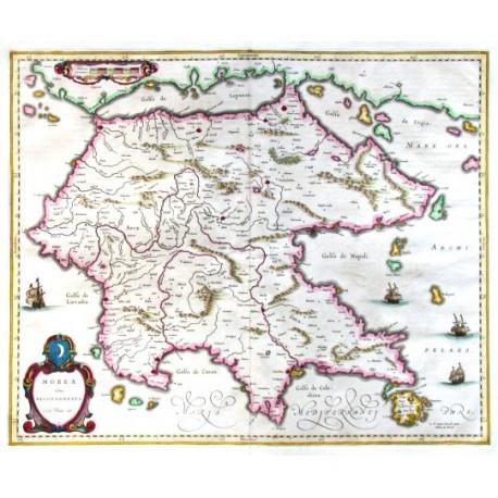 Morea olim Peloponnesus