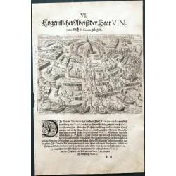 Eygentlicher Abriß der Stat Vintane auch in Celon gelegen