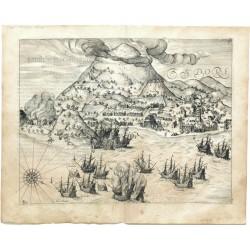 Einnehmung der Festung Tidore