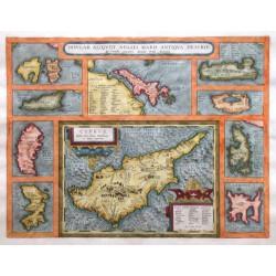 Zypern und Ägäische Inseln - Insular. aliquot Aegaei maris antiqua descrip.