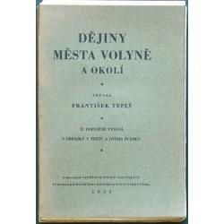 Dějiny města Volyňe a okolí