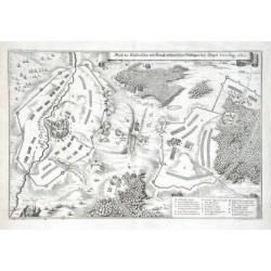 Abriss des Kaijserischen und Königl: Schwedischen Veldlägers beij Töppel, den 30 Aug: 1647