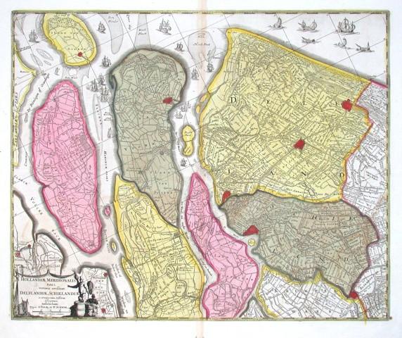 Hollandiae meridionalis pars I. continens novissimam Delflandiae, Schielandiae  descriptionem