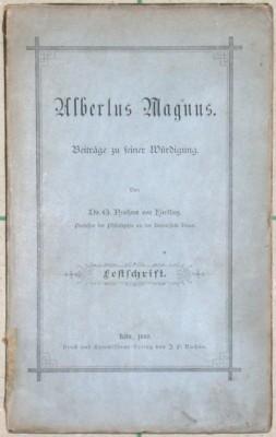 Albertus Magnus. Beitrage zu seiner Würdigung