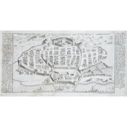 Cagliari oder Calaris die Haupt und Residenz Statt des Vice Königs in Sardinien