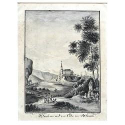Tetschen an der Elbe in Böhmen