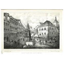 Marktplatz und Schlossbrunn