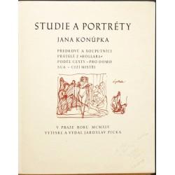 Studie a portréty Jana Konůpka