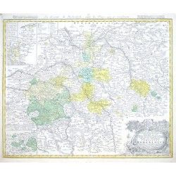 Comitatus Hohenloici Tabulam hanc Geographicam