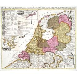 Belgii pars septentrionalis  vulgo Hollandia