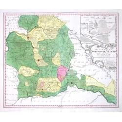 Delineatio Nordgoviae Veteris prout ejus facies Seculo XI. & XII. fuit, Geographice designata