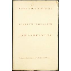 Církevní cherubín ... Jan Sarkander