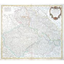 Le Royaume de Boheme, le Duche de Silesie, et les Marquistas de Moravie et Lusace