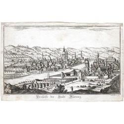 Prospekt der Stadt Florenz