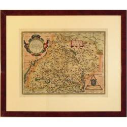 Moraviae, quae olim Marcomannorvm Sedes, Corographia
