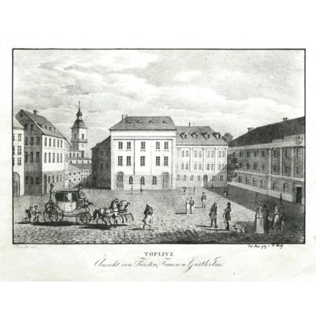 Töplitz. Ansicht von Fürsten, Frauen u. Gütlerbad