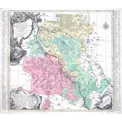 Electoratus Saxonici Praefecturae Annaburgensis Pretzschens, Torgauiensis, Schweinicensis, Mühlenbergensis studio