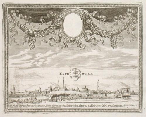 Eschwege - Alte Landkarte