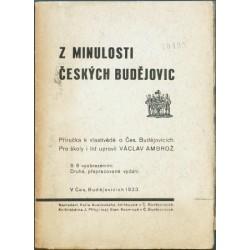 Z minulosti Českých Budějovic