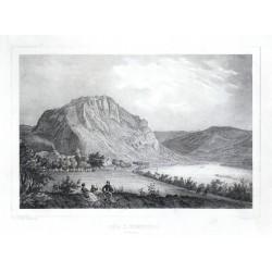 Der Ziegenberg bei Aussig
