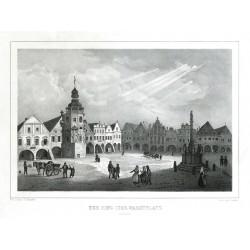 Der Ring oder Marktplatz in Arnau