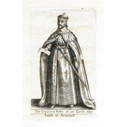 The Creation Robe of an Earle, the Lord of Arundell