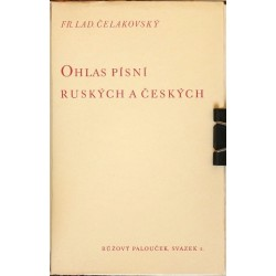 Ohlas písní ruských a českách