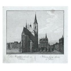 Die Hauptpfarkirche zu Pilsen. Hlavnj farnj chrám w Plzni