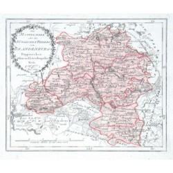 Der Mittelmark oder des Südlichen Theiles von Brandenburg Ruppinscher Glien- und Löwenbergscher Kreis. Nro. 344.
