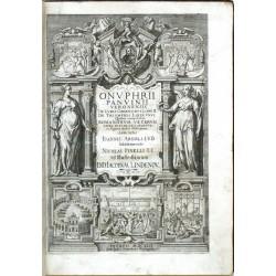 Onuphrii Panvinii Veronensis De Ludis Circensibus, Libri II ...