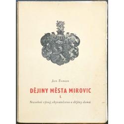 Dějiny města Mirovic