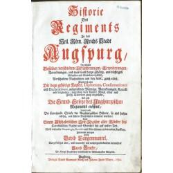 Historie des Regiments in ... Augspurg